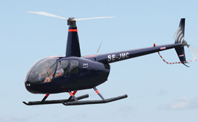 Provflyg helikopter