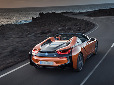 Kör BMW i8 Roadster Plus