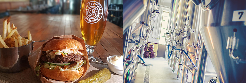 Inline - Brewery, Beers and Burgers